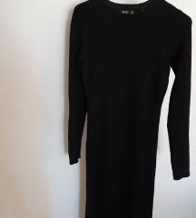 BERSHKA duga knit haljina  M