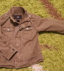 H&M dječja military jaknica 92