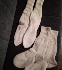 Čarape od Ličke vune - ručni rad