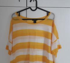 H&M Žuta ljetna majica