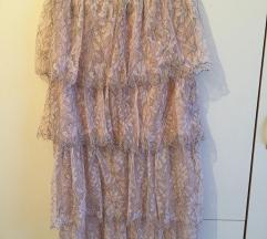 Zara čipkasta suknja