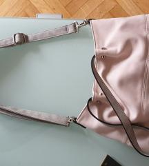 Dvije torbe roza i siva