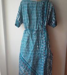 Haljina šivana od indijskog sarija