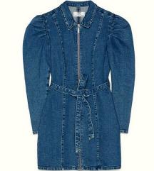 Traper haljina s puf rukavima