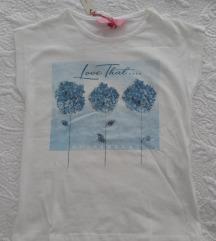 NOVO OVS majica za curice 110 cm/4/g