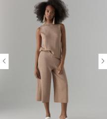 NOVE Mohito larex culottes hlače nude