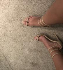 Beige sandale