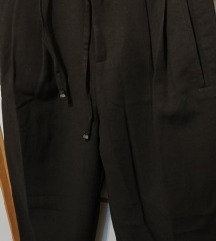 Mango poslovne crne hlače