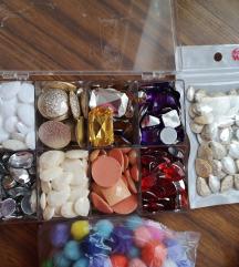 Lot repromaterijala za izradu nakita