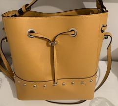 Torba žute boje Zara