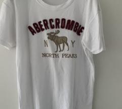 Abercrombie bijela majica s natpisom