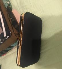 Clutch plava torbica