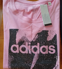 Nova Adidas original roza majica
