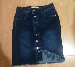 Nova jeans suknja