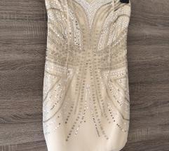 H&M sequin mini haljina
