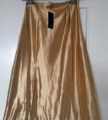 Reserved zlatna suknja