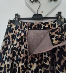 Orsay suknja na uzorak leoparda