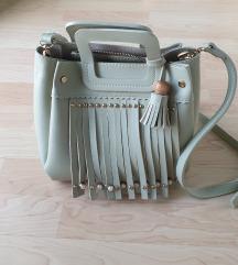 Zelena torbica sa resicama (uklj.postarina)