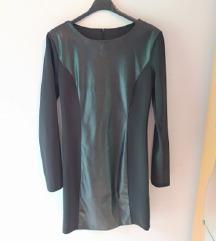 SA ETIKETOM! Crna haljina, UNI(S/M)