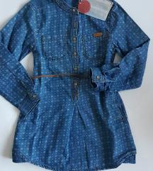 NOVO Zara traper haljina vel. 110 ( 4-5 god)