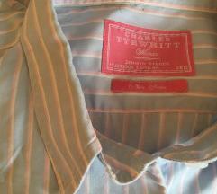 Predivna plava prugasta košulja vel L