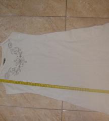 Bijela lan haljinica M