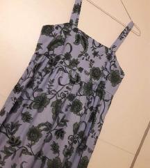 Zara maxi pamučna haljina L-XL