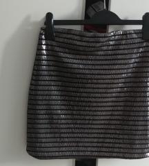 Sequin mini suknja New Yorker