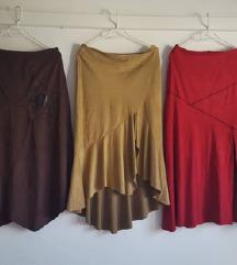 Suknje od umjetne kožne