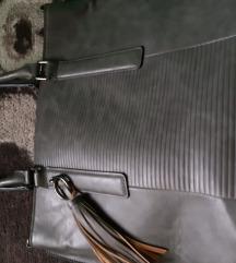 Siva velika poslovna torba 70kn