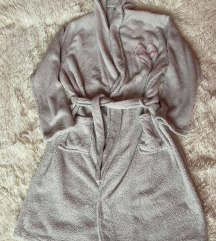 Sinsay sivi kućni ogrtač, jednom nošen, S/M