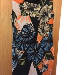 Predivna cvjetna mini haljina bez rukava NOVO