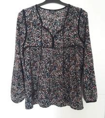 Floral print/cvjetna bluza S, M