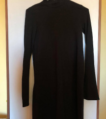 ZARA crna pamučna haljina