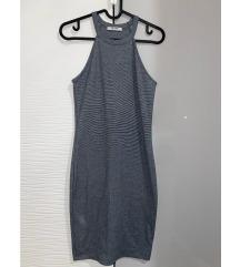 Zara strukirana haljina