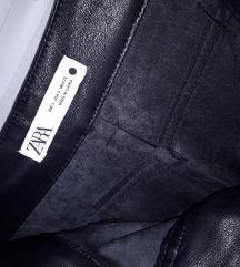 Kožne ženske hlače