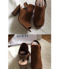 Guess cipele boje konjaka