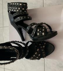 Sandale broj 38 jednom nosene