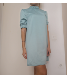 Plava haljina Asos vel 38