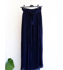 Nova plisirana suknja s mašnom