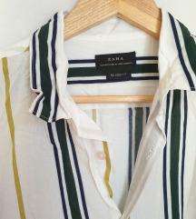 ⭐ZARA viskoza striped košulja-NOVO⭐