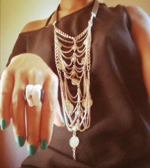 Akcija komplet ogrlica +prsten