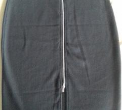 Uska crna suknja 38