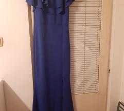 Duga haljina s volanima