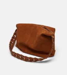 FREE PT📌kožna  shopper torba Zara