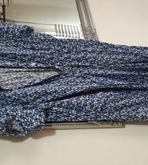 Boho plava haljina%%