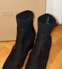 Steve Madden crne sock čizme