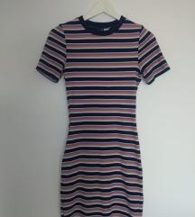 Uska haljina na prugice