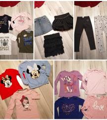 Lot odjeće za djevojčice 250 kn