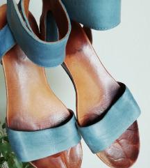 Relance plave sandale platforma sa PT